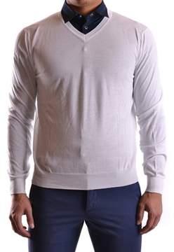 Peuterey Men's White Cotton Sweater.
