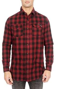 Cult of Individuality Soho Cotton Button-Down Shirt