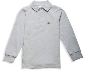Lacoste Toddler's, Little Boy's & Boy's Long Sleeved Ribbed Collar Sweater