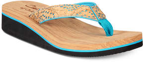 Callisto Surfer Wedge Flip-Flops Women's Shoes