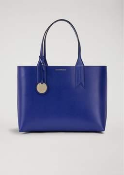 Emporio Armani Tote Bag With Logo Charm