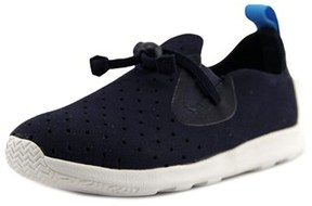 Native Apollo Moc Youth Round Toe Canvas Blue Sneakers.