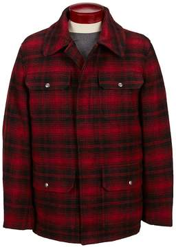 Cole Haan Buffalo Plaid Hunting Jacket