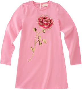Kate Spade Sequin & Embroidery Rose Dress