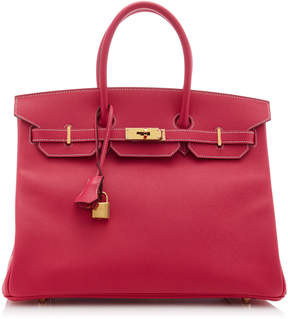 Hermes Vintage by Heritage Auctions 35cm Rose Tyrien Epsom Leather Candy Birkin