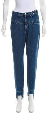 Closed High-Rise Straight-Leg Jeans w/ Tags