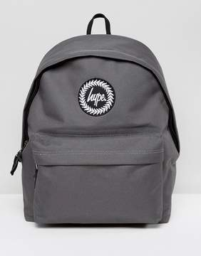 Hype Exclusive Script Strap Backpack in Gray