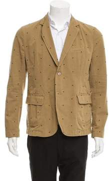Band Of Outsiders Woven Two-Button Blazer