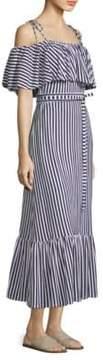 DAY Birger et Mikkelsen MDS Stripes Rebecca Ruffle Stripe Dress