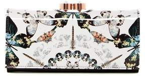 Ted Baker Augusti Butterfly Crystal Framed Matinee Wallet