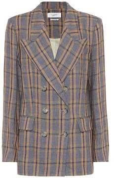 Etoile Isabel Marant Isabel Marant, Étoile Ianey plaid linen jacket