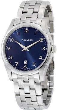 Hamilton Jazzmaster Thinline Blue Dial Stainless Steel Men's Watch