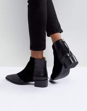 Office Amplify Leather Pointed Boots
