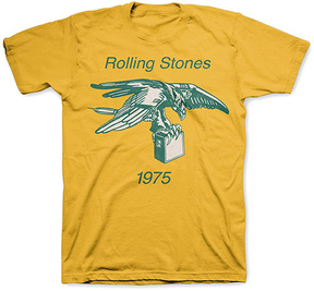 Bravado Rolling Stones Yellow Eagle Amp 1975 Tee - Men's Regular