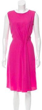 Christian Dior Sleeveless Asymmetrical Dress