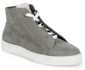Calvin Klein High Top Leather Sneakers