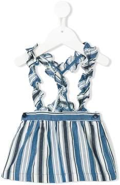 Il Gufo striped dungarees