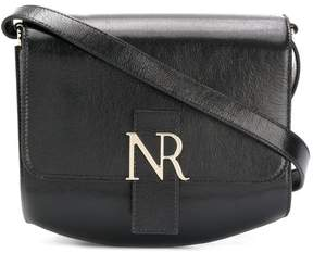 Nina Ricci logo plaque shoulder bag