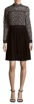 Alexia Admor Lace Chiffon Dress