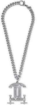 Moschino Silver-Tone Necklace