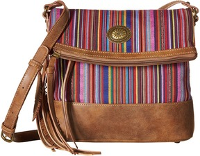 American West - Serape Fold-Over Crossbody Cross Body Handbags
