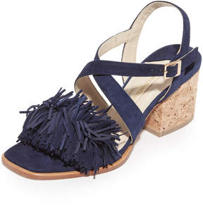 Paloma Barceló Neville Fringe City Sandals