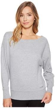 2xist Off Shoulder Sweatshirt