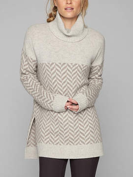 Athleta Wool Cashmere Ridgecrest Turtleneck
