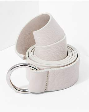 7 For All Mankind | B-Low The Belt Mia Wrap In Bone Silver