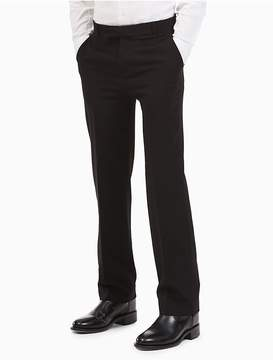 Calvin Klein Boys Bi-Stretch Regular Fit Pants