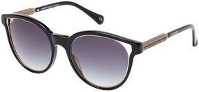 Balmain BL2507 Black Cat Eye Sunglasses