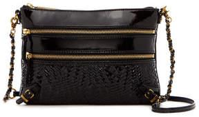 Elliott Lucca Bali '89 Woven Leather Crossbody Bag