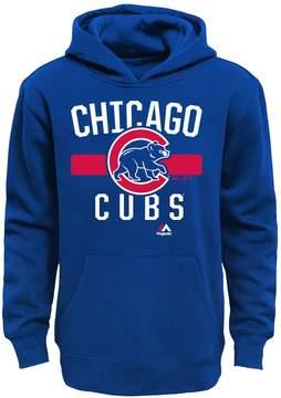 Majestic Boys 8-20 Chicago Cubs Fleece Hoodie