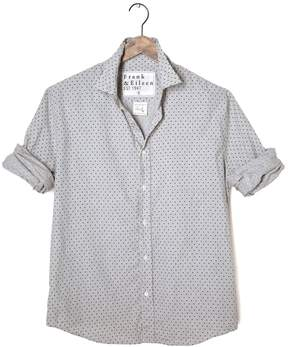 Frank And Eileen Mens Paul Italian Twill Polka Dot Shirt