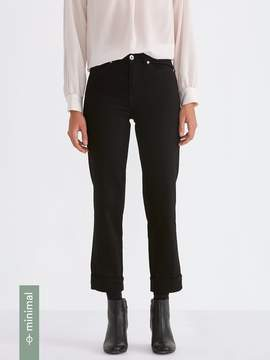 Frank and Oak The Patti Straight-Fit Jean in Black