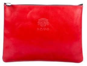 Ghurka Leather Zip Pouch