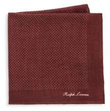 Ralph Lauren Cash Pin Dot Pocket Square