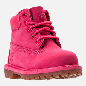 Timberland Girls' Toddler 6 Inch Classic Boots