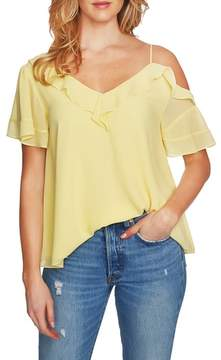 1 STATE 1.STATE Ruffle Asymmetrical Top