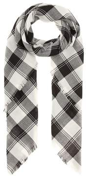 Saint Laurent Wool, cashmere and silk scarf