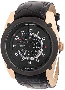 Heritor Daniels Automatic Black Dial Men's Watch