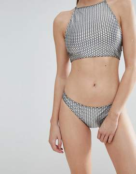 Jaded London Mermaid Foil Hipster Bikini Bottom