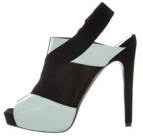 Aperlaï Cutout Slingback Sandals