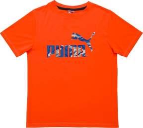 Puma Big Boys Logo T-Shirt
