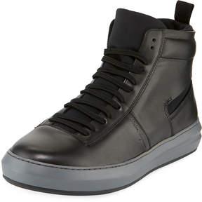 Salvatore Ferragamo Men's Dakota High-Top Sneakers