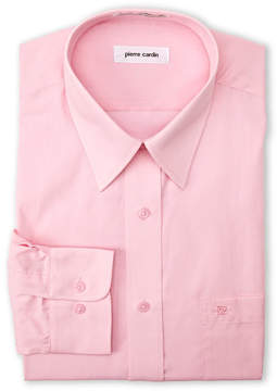 Pierre Cardin Cherry Pink Solid Dress Shirt