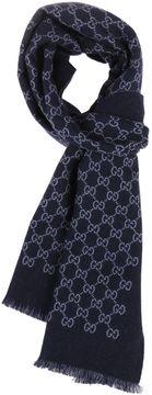 Gucci Logo Pattern Knit Foulard