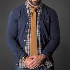 Blade + Blue Navy Blue Cardigan Sweater