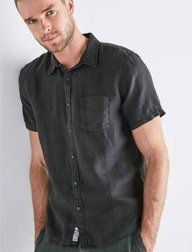 Lucky Brand French Linen One Pocket Shirt