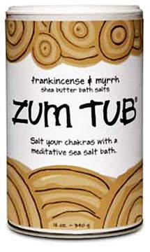 Indigo Wild Zum Tub Frankincense and Myrrh Shea Butter Bath Salts by 12oz Salt)